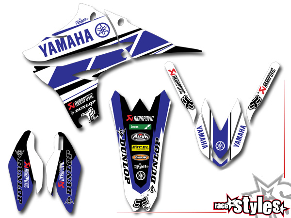 yamaha yzf wrf ltd edition 02 kit graphique. Black Bedroom Furniture Sets. Home Design Ideas