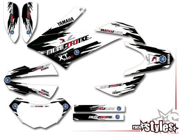 Yamaha Wr  R Graphics Kit