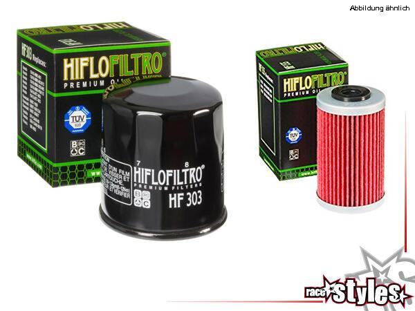 KTM LC4 Ölfilter-SET der Firma Hiflo Filtro. In Erstausrüsterqualität! Das Set enthält 1x Schraubfi