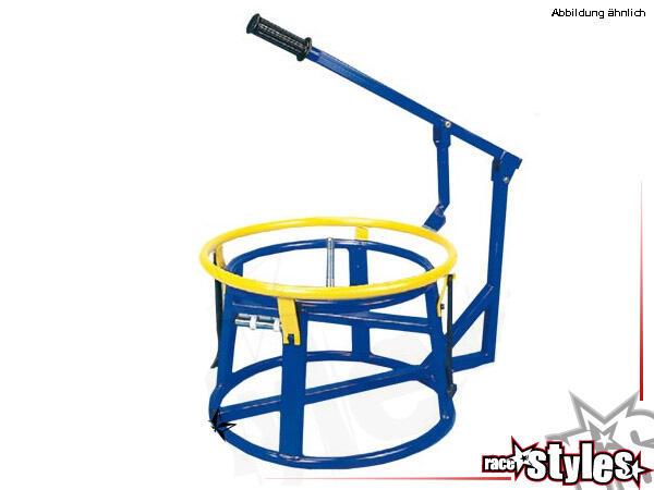 Reifenmontiergerät manuell. Geeignet für 16-, 17-, 18-, 19- und 21-Zoll-Felgen. Ideal für den Priva