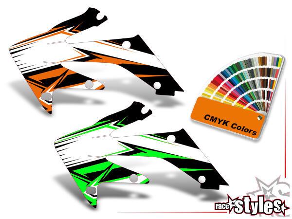 Mit dieser Option kann die Farbe eines Graphic-Kits verändert werden: Gestalte so dein individuelle