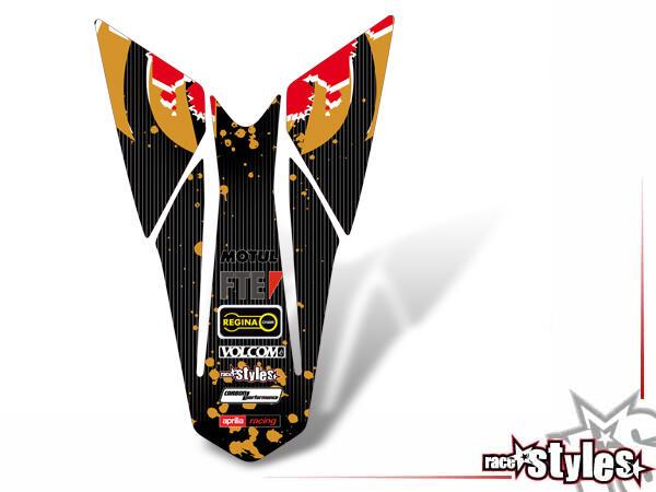 LTD.-Edition Heckkotflügel Dekor für APRILIA SXV / RXV / MXV / 450-550 Modelle.