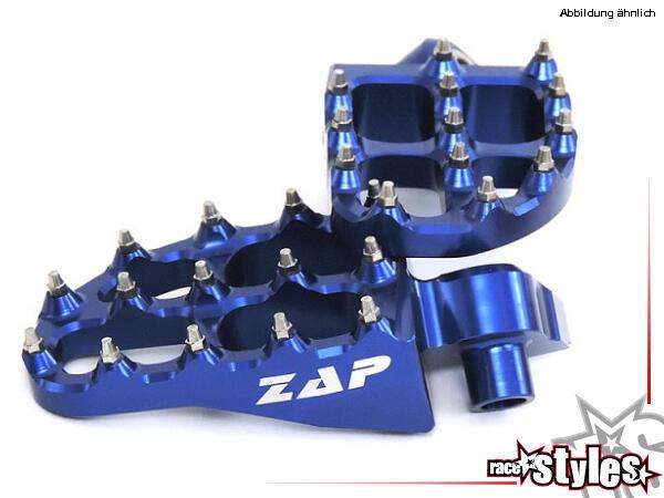 ZAP Aluminium E-PEG Fußrasten. Neues ergonomisches Design, Resultat aus über 10 Jahren Erfahrung mi