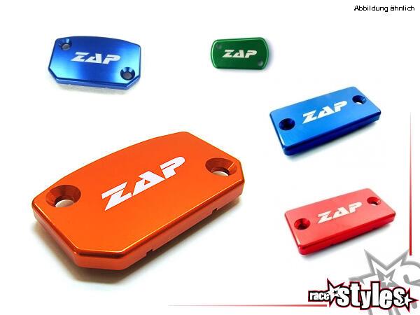 CNC-gefräßte Aluminiumdeckel für den Kupplungszylinder. Farblich eloxiert für verschiedene Motorrad
