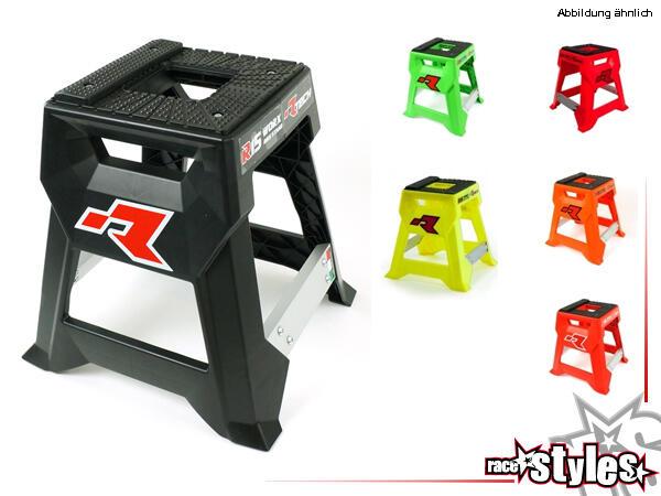R 15 WORX Ständer weiß. Superleichter Bike Ständer aus Technopolimer-Kunstoff, inklusve rutschfeste