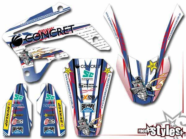 Basic Dekor-Kit für TM EN / MX / SMM / SMR /SMX (85 125 450 530) Modelle 2005-2020 bestehend aus Ga