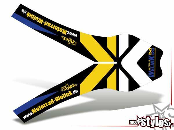 Newline-LTD. Kotflügel Dekor für HUSABERG FC / FE / TE / FX / FS Modelle ab 2000-2013.