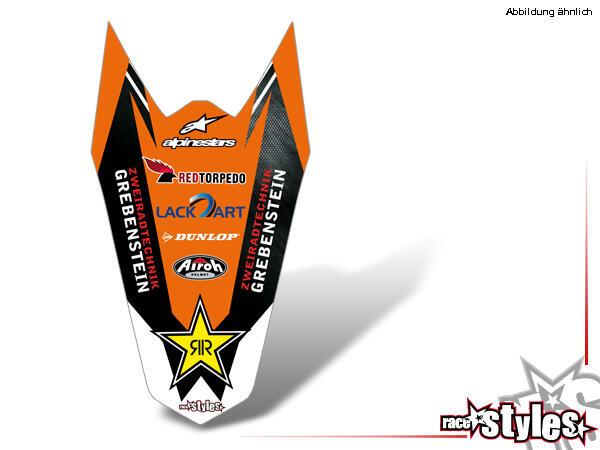 LTD.-Edition Heckkotflügel Dekor für KTM SX / SX-F (2007-2010) und EXC / EXC-F / SMR (2008-2011).