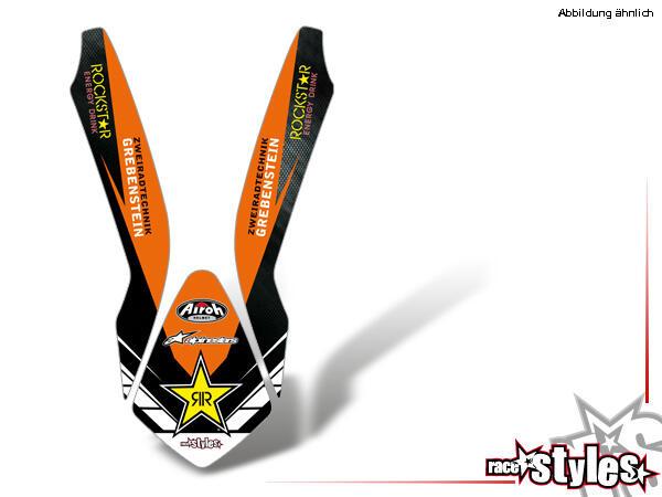LTD.-Edition Kotflügel Dekor für KTM SX / SX-F (2007-2010) und EXC / EXC-F / SMR (2008-2011).