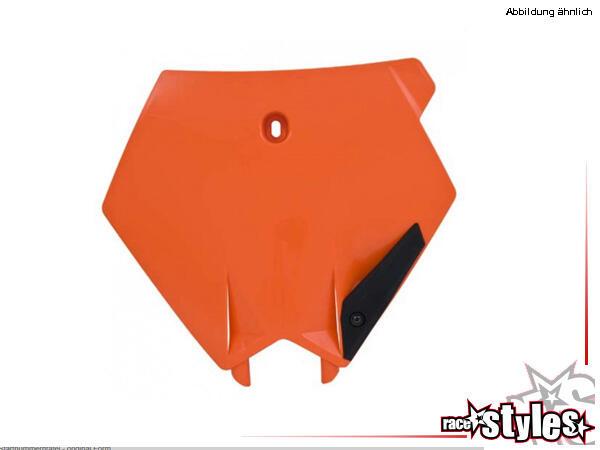 KTM SX-SXF/EXC-EXCF Startnummerntafel, in verschiedenen Farben erhältlich.HINWEIS: Alle Plastik-/Ca
