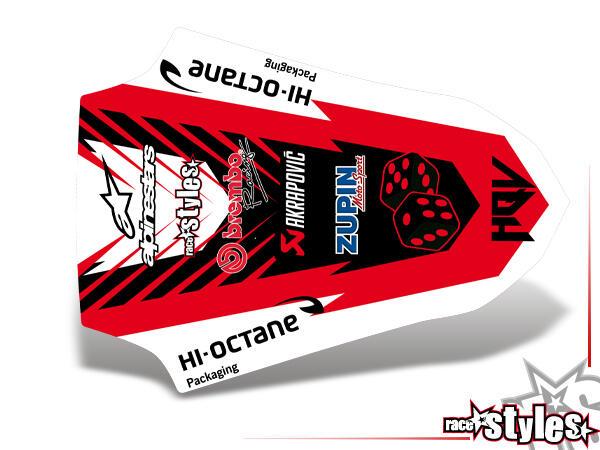 LTD.-Edition Heckkotflügel Dekor für HUSQVARNA SM / SMR / WR / WRE / CR / TC / TE Modelle ab 2000-2013.
