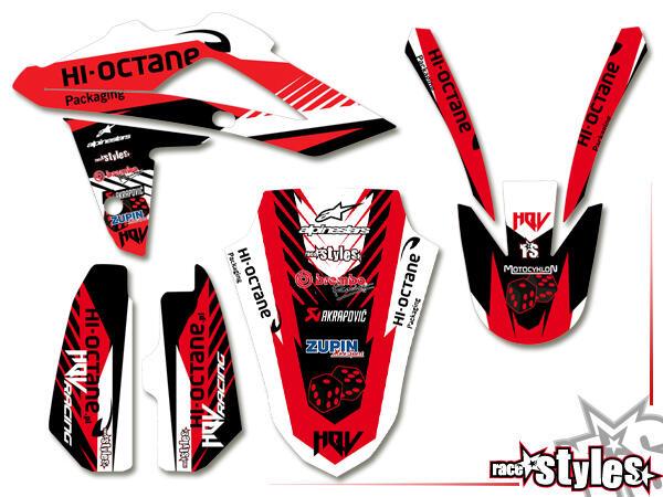 LTD.-Edition Basic Dekor-Kit für HUSQVARNA SM / SMR / WR / WRE / CR / TC / TE Modelle ab 2000-2013 bestehend aus