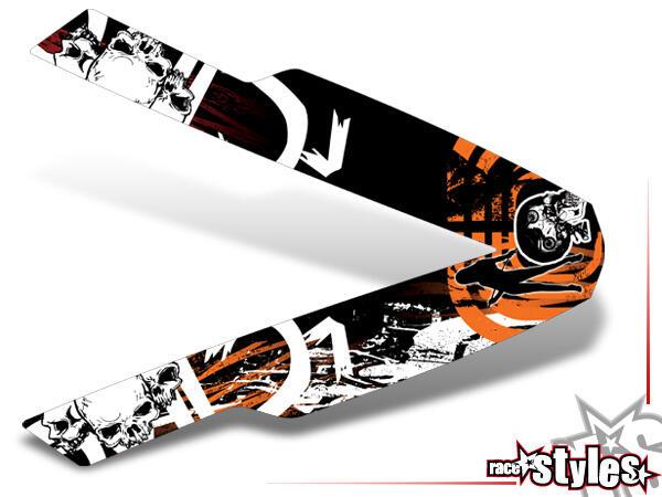 Graffiti-FX Kotflügel Dekor für KTM SX / SX-F (1998-2006) und EXC / EXC-F / SMR (1998-2007).