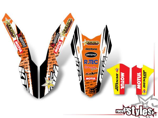 KTM TRIM KIT für KTM SX / SX-F (2007-2010) und EXC / EXC-F / SMR (2008-2011).QUALITÄT- extra DICKE