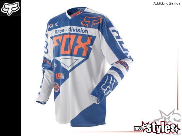 FOX 360 Intake Jersey. Hauptkörper aus Polyester mit Mesh Panel im Rückenbereich für verstärkte Luf