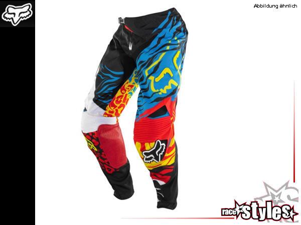 FOX 360 Forzaken Pant. 900D Polyester Material im Hauptkörper für lange Haltbarkeit. Ergonomisch vo