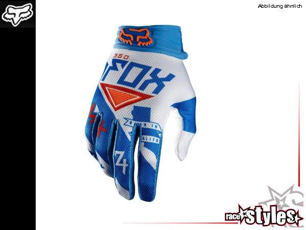 FOX 360 Intake Glove. Der traditionelle MX Handschuh mit gepolsterter Multi-Panel Handfläche. Weltk