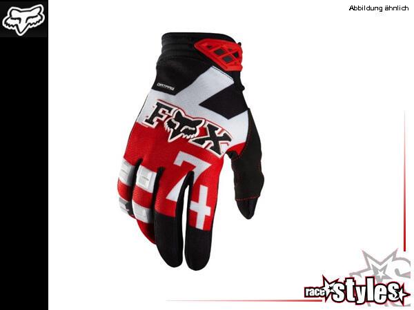 FOX 180 Anthem red Glove. High Performance ohne hohes Preisschild. Der frisch überarbeitete Dirtpaw