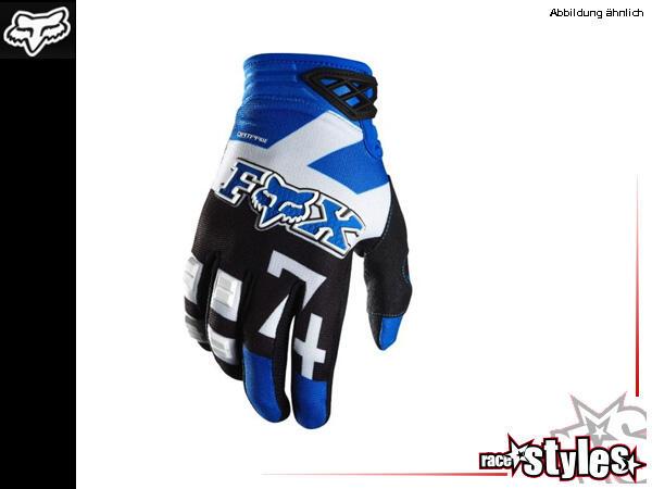 FOX 180 Anthem blue Glove. High Performance ohne hohes Preisschild. Der frisch überarbeitete Dirtpa
