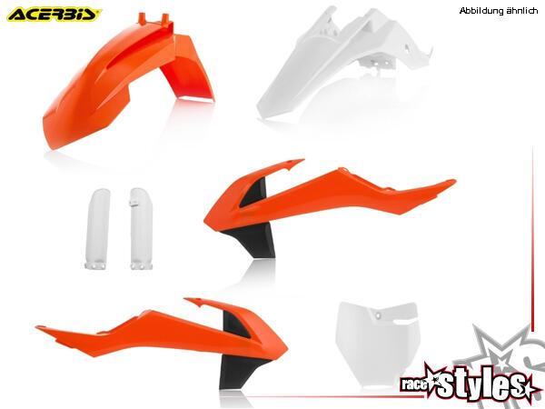 Plastik-Kit original für diverse KTM SX65 Modelle. Der Kit setzt sich wie folgt zusammen:- Schutzbl