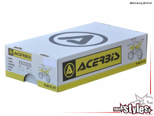 Plastik-Kit original für diverse YAMAHA Modelle. Der Kit setzt sich wie folgt zusammen:- Gabelprote