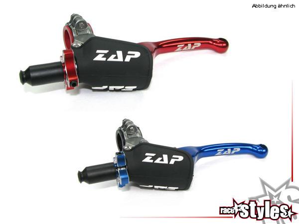 V.2X für verschiedene Motorradmodelle. In verschiedenen Farben lieferbar. ZAP FLEX-Hebel. Hebelaufn
