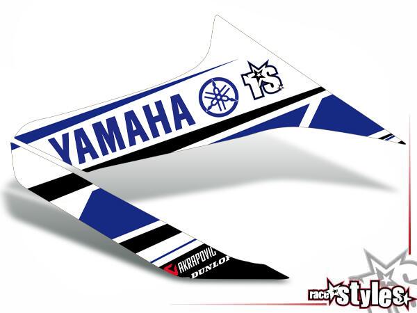 Factory-MX Kühlerspoiler Dekor li./re. für YAMAHA WR 125X / 125R (2009-2017).