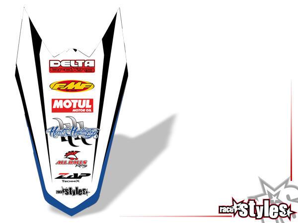Huntington Heckkotflügel Dekor für KTM SX / SX-F (2007-2010) und EXC / EXC-F / SMR (2008-2011).