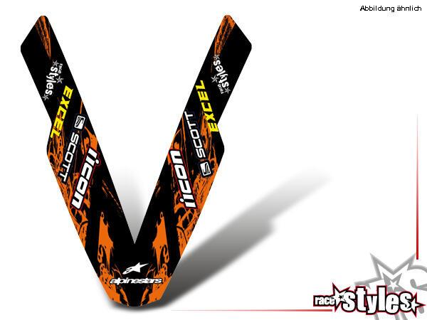 Rockstar-MX Kotflügel Dekor für KTM LC4 - SXC / SM / SMC / DUKE 620-660 (1998-2007).