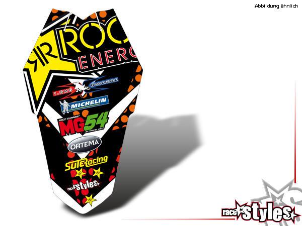 Rockstar-MX Heckkotflügel Dekor für KTM SX / SX-F (2011-2012, 2013-2015) und EXC / EXC-F / SMR (2012-2013, 2014