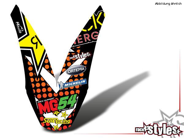 Rockstar-MX Kotflügel Dekor für KTM SX / SX-F (2011-2012, 2013-2015) und EXC / EXC-F / SMR (2012-2013, 2014-201