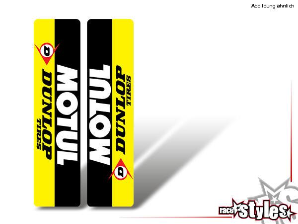Brandings Gabelprotektoren Dekor li./re. für KTM SX50 2002-2015 / SX65 2000-2015 / SX85 2000-2012.