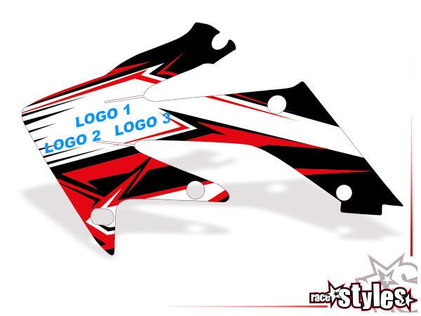 Mit dieser Option kann einem Graphic-Kit 2-3 Logos hinzugefügt und/oder getauscht werden: Gestalte