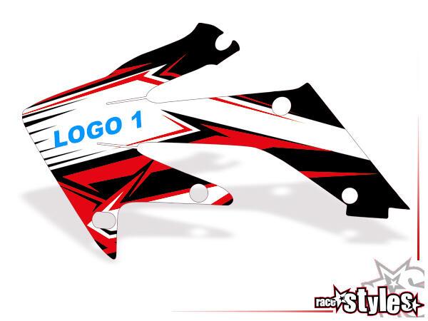 Mit dieser Option kann einem Graphic-Kit 1 Logo hinzugefügt und/oder getauscht werden: Gestalte so