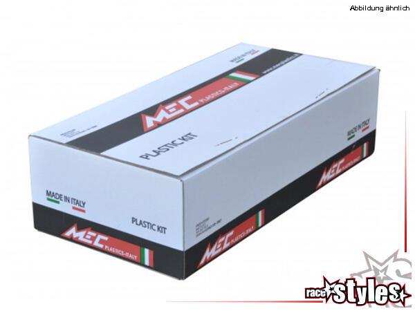 Plastik-Kit white für diverse KTM Modelle. Der Kit setzt sich wie folgt zusammen:- Schutzblech vorn