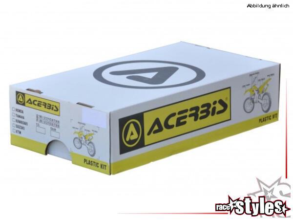 Plastik-Kit white für diverse KAWASAKI Modelle. Der Kit setzt sich wie folgt zusammen:- Gabelprotek