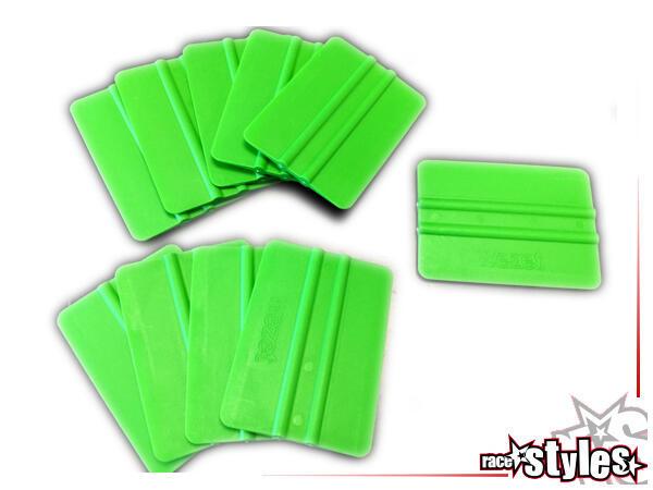 Grünes Verkleberakel für beste Verklebenergebnisse. Ermöglicht, einfach und zielgenau, das Aufbring