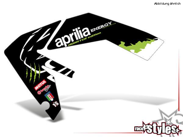 AMA-LTD. Kühlerspoiler Dekor li./re. für APRILIA SXV / RXV / MXV / 450-550 Modelle.