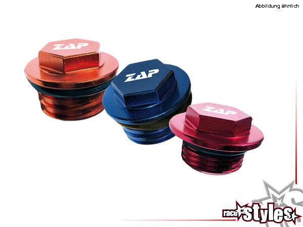 Öleinfüllschrauben farbig eloxiert für verschiedene Modelle aus Aluminium.