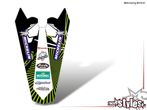 MX-Circuit Heckkotflügel Dekor für KTM SX / SX-F (1998-2006) und EXC / EXC-F / SMR (1998-2007).