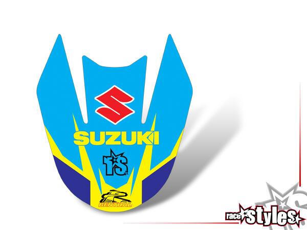 déco coques avant pour SUZUKI DRZ 400, 2000-2007.