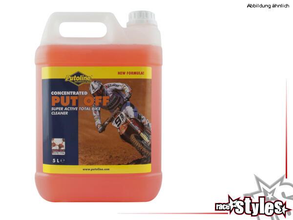 Putoline PUT OFF CONCENTRATED 5 Liter. Put Off Bike Cleaner ist ein wirkungsvoller Universalreinige