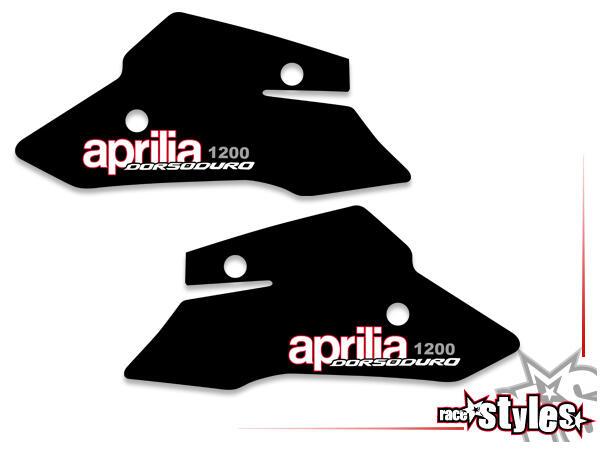 Motorabdeckung Dekor li./re. für APRILIA Dorsoduro 1200, 2008-2015.