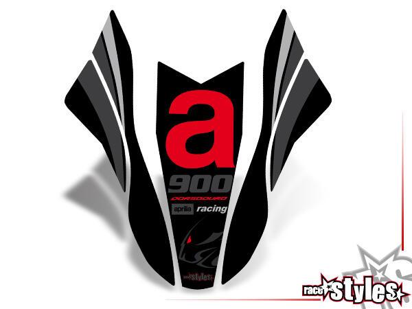 Kotflügel Dekor für APRILIA Dorsoduro 750 / 900 / 1200, 2008-2020.