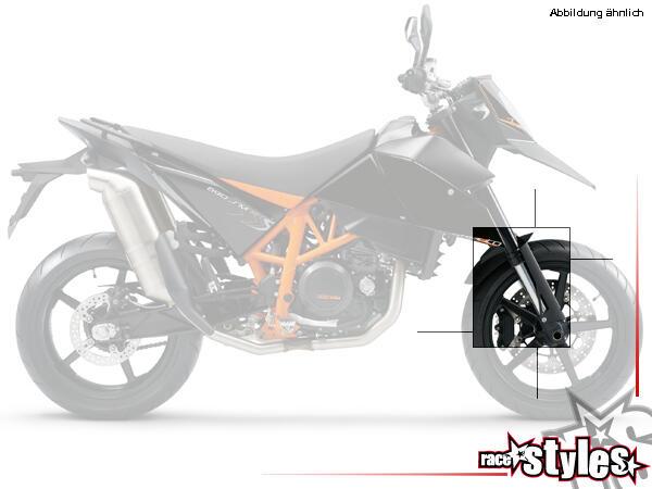 Kotflügel für KTM Supermoto 690 R (2007-2010).HINWEIS: Alle Plastik-/Carbonteile in unserem eShop k
