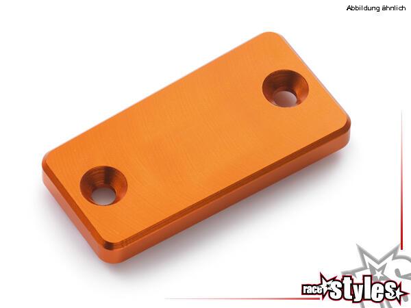 CNC-gefräßte Aluminiumdeckel für den Kupplungszylinder. Farblich eloxiert für KTM 690 SMC / SMC-R /