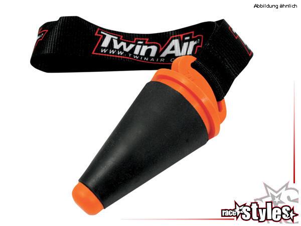 TwinAir Auspuffstopfen für verschiedenste Endschalldämpfer. Farbe schwarz.