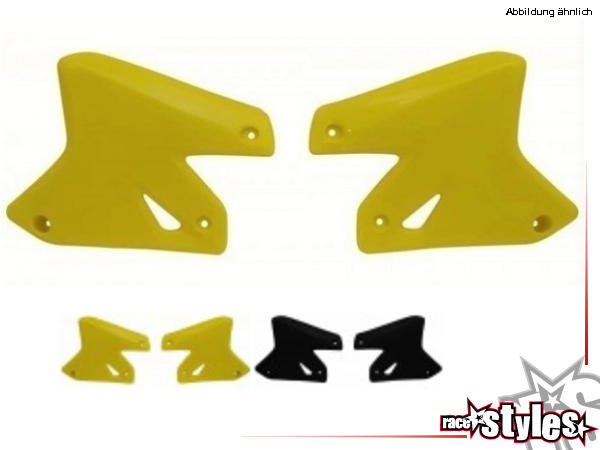 SUZUKI DRZ 400 rad covers left and right, without decals, in different colors available.NOTICE: We