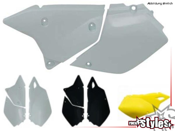 SUZUKI DRZ 400 side panels left and right, in different colors available.NOTICE: We are able to mou