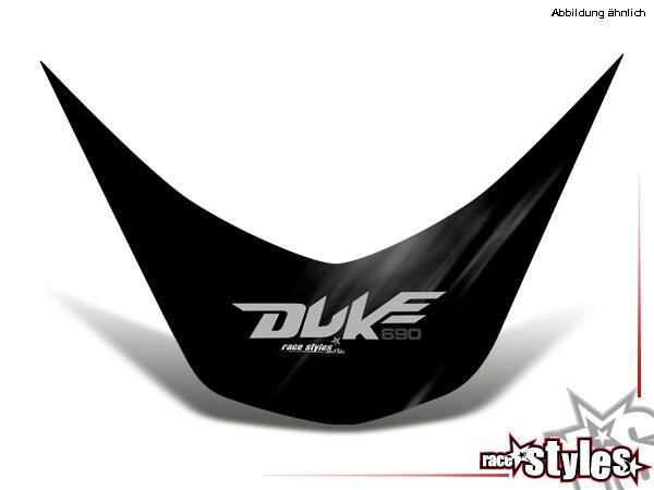 Heckkotflügel Dekor für KTM 690 Duke 2008-2018.